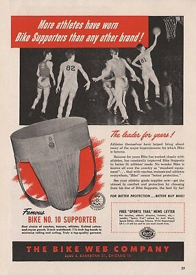 Vintage 1945-74 JOCK STRAPS, ATHLTIC SUPPORTERS Print Ads (Priced Per Ad)