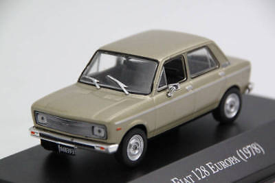 1:43 Scale Altaya Fiat 128 Europa 1978 Diecast Models Limited Edition Collection