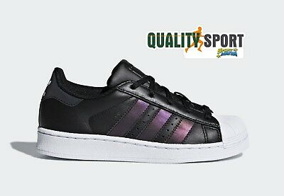 Adidas Superstar Nero Xeno Cangiante Scarpe Shoes Sportive Sneakers CQ2721 2018