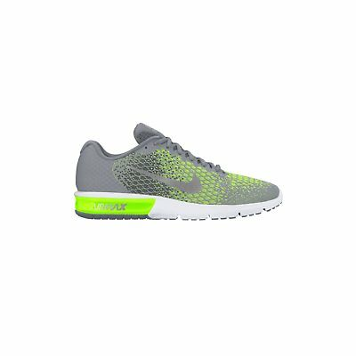 4c76881a39a NIKE AIR MAX SEQUENT 2 Gris Vert Basket Course Running Chaussures Hommes  852461