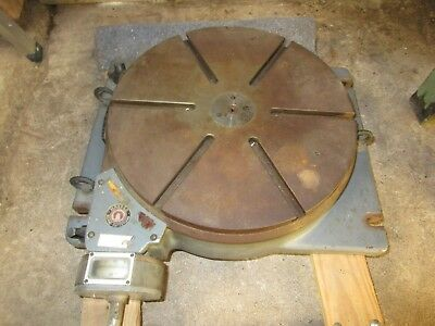 "Hauser 16"" Rotary Table, metalworking tooling"