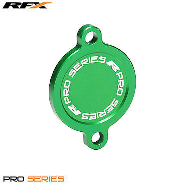 RFX Pro Oil Filter Cover (Green) Kawasaki KXF450 KX450F 2016 2017 2018