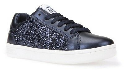 Geox J DJRock Navy Girls Lace Up Trainers - 100% Positive Reviews