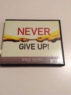 NEW JOYCE MEYER'S Never Give Up Interactive Curriculum Kit