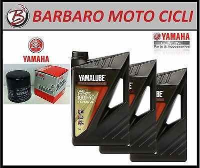REPLACEMENT KIT YAMALUBE FS 15 w 50 OIL FILTER Yamaha MT 07 MT 09 100% SYNTHETIC
