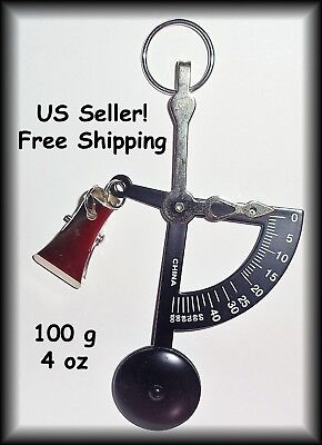 Handheld Pocket 90° Postal Scale - Ounces & Grams - Scales Up to 4 oz / 100 g