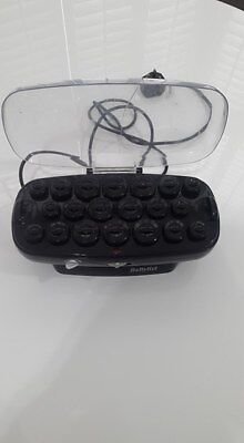 Babyliss Heated Rollers crack in lid but still completely usable