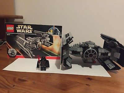 Lego Star Wars 8017 Darth Vaders Tie Fighter 100 Complete With