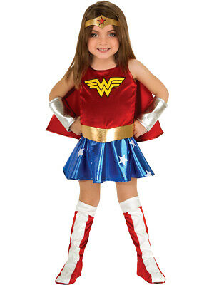Childs Girls Wonder Woman Super Hero Toddler Costume Set 12-24m