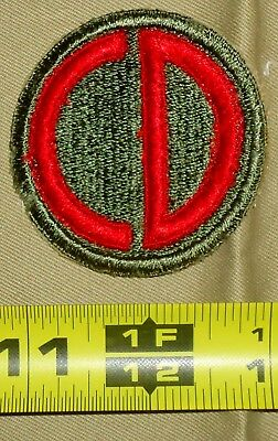 WWII era US Army Patch, 85th Infantry Division, Custer Div, Italian Campaign