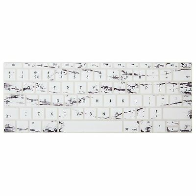 MacBook Pro 12 13 Inch Keyboard Protector Extra Slim Silicone Skin Cover White