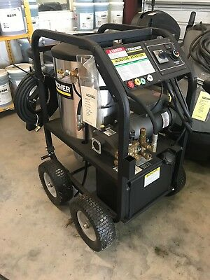 Karcher Hot Water Pressure Washer HDS Cage