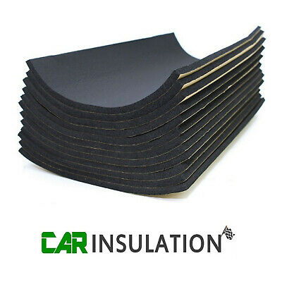 18 Sheets 10mm Van Sound Proofing Deadening Vehicle Insulation Closed Cell Foam