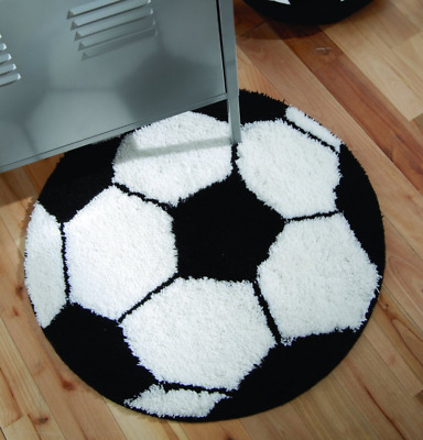 Catherine Lansfield It's A Goal Football Rug Kids