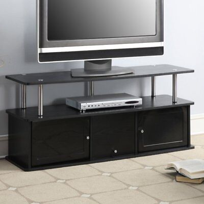 Convenience Concepts Designs2Go TV Stand with 3 Cabinets