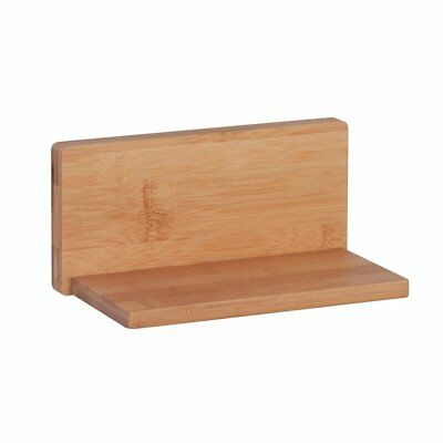 Honey Can Do Bamboo L Shape Wall Shelf