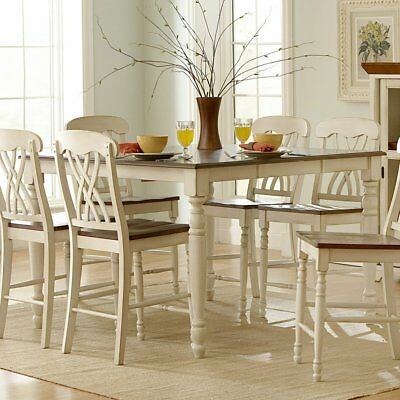 Weston Home Ohana Counter Height Dining Table with Leaf
