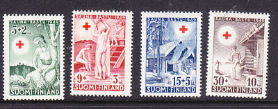 Finland Red Cross 1949 Complete set 471/4 Mint