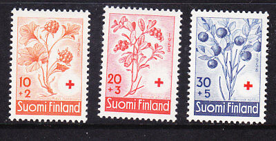 Finland Red Cross 1958 Complete set 595/97 Mint