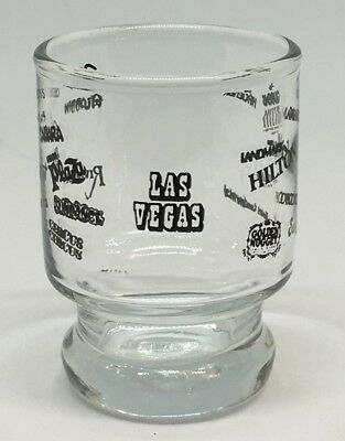 Vintage Las Vegas Shot Glass