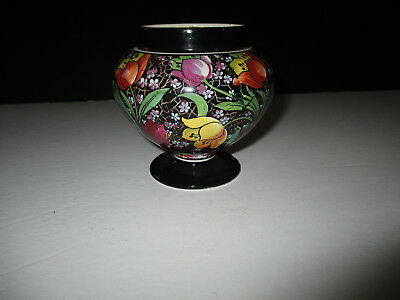 "Vintage Gibsons Art Deco Pottery Small Vase---C 1930--4""H---Made in England"