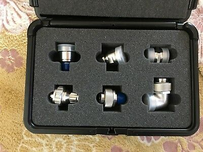 Anritsu 7/16 DIN To N Coax 6 Piece Adapter Kit with Case SC7356