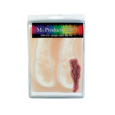"""MEL Products Encapsulated Silicone Prosthetic ESP 213 Straight Open Tear 4.5"""""""