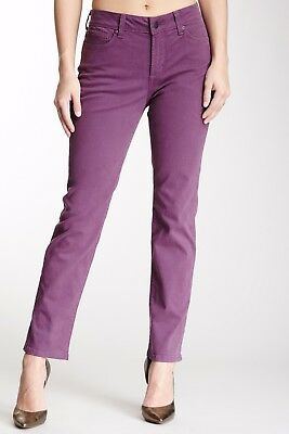 NWT NYDJ Not Your Daughters Jeans VIOLA Beautiful Color 5 Pocket SKINNY Size 4P