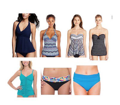 Lot of 50 Profile Gottex Tankini Top, Swimsuit, Swim Bottom~ Size 6~Packed~NWT
