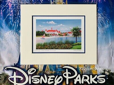 Disney's Grand Floridian Deluxe Print By Dotson New Walt Disney World 8 X 10