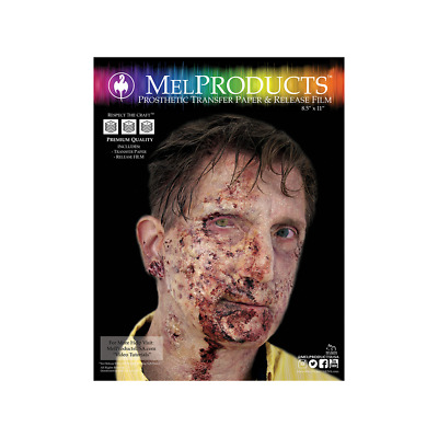MEL Products Prosthetic Transfer Paper and Release Film 5 sheets