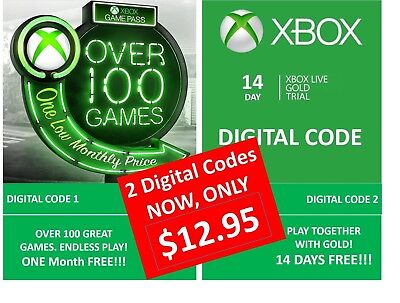 XBOX ONE GAME Digital Download Code (no disc) BRAND NEW GAME & GOLDEN MEMBERSHIP