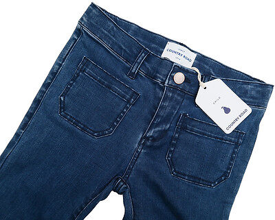 COUNTRY ROAD Girls Denim Bootleg FLARE Jeans Size 8  . RRP $54.95  .  NWT