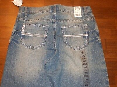 Cinch Jeans Boys 18 R New with Tags Never Worn