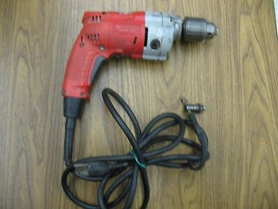 "Milwaukee 1/2""  Reversible Hand Drill  TESTED AND Works Good"