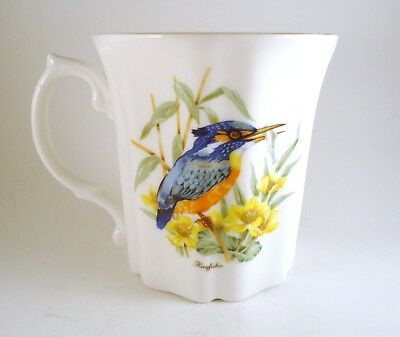 Vintage Royal Grafton Fine Bone China Tea/Coffee Cup Mug Kingfisher