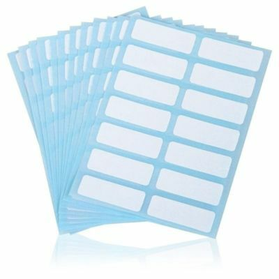 Blank White Price Sticker Name Stickers Name Number Tags Blank Note Labels