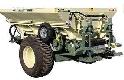 Marshall 845T 845T-L 4.5T Spreader Fertilizer/Manure Spreader