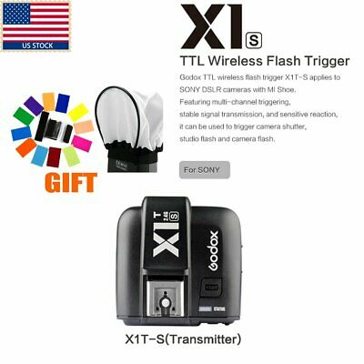 US Godox X1T-S TTL 1/8000s HSS 2.4G Wireless Flash Trigger for Sony A7 A77II A7R