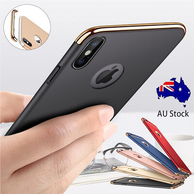 Hybrid Hard Protective Case Shockproof Cover For iPhone X 8 7 6S Plus XS Max XR