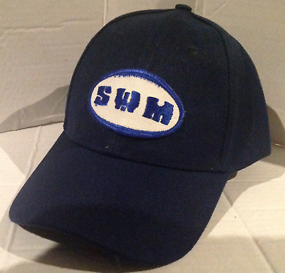 SWM Baseball cap motorbike motorcycle Embroidered Patch
