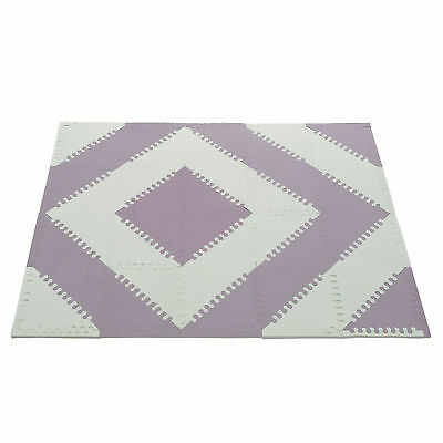 Baby Play Mat Extra Thick Non Toxic Tiles Kids Foam Soft Puzzle Flooring Chevron