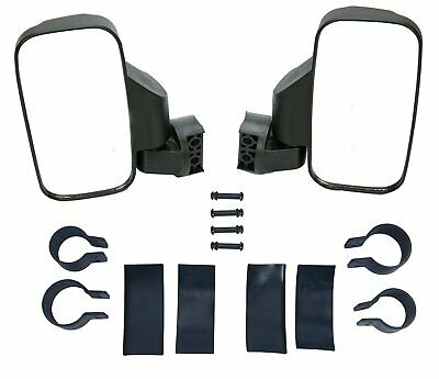 2Pcs Adjustable UTV Side View Mirror Set High Impact 1.75 / 2inch Roll Bar Cage