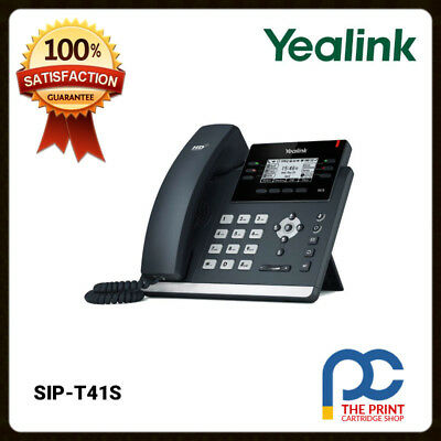 Yealink SIP-T41S Ultra-elegant 6 Line IP Phone Business Telephone