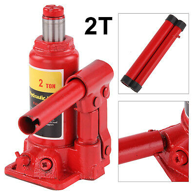 2 TON TONNE Hydraulic Bottle Jack Lifting Stand for Car/Van/Boat/Caravan UK