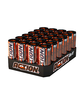 48 x Action Energy Drink 250ml (48x0,25) Pfand Frei