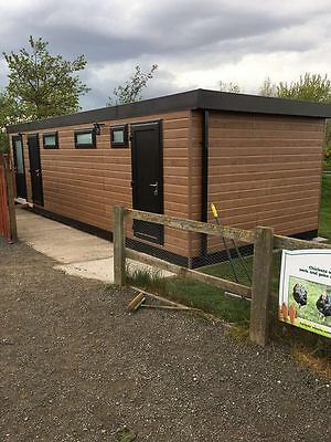 30 x 12 portable cabin, shower toilet block , modular building, portable office