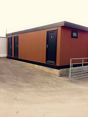 28 x 12  portable cabin, shower toilet block, modular building, portable office
