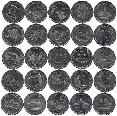 "Sri Lanka 25 x 10 Rupees 2013 ""Districts series"""