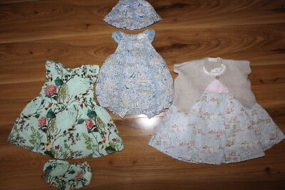 NEXT girls dress romper outfits bundle up to 1 0-3 months *I'll combine postage*